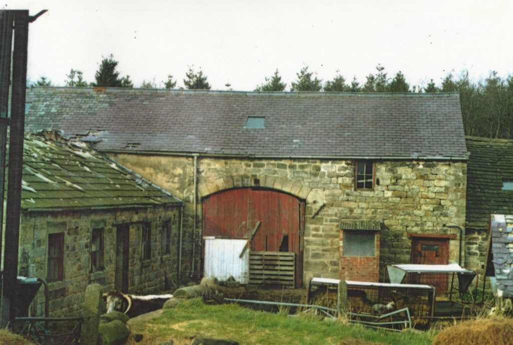 Original Lineham Farm Barn
